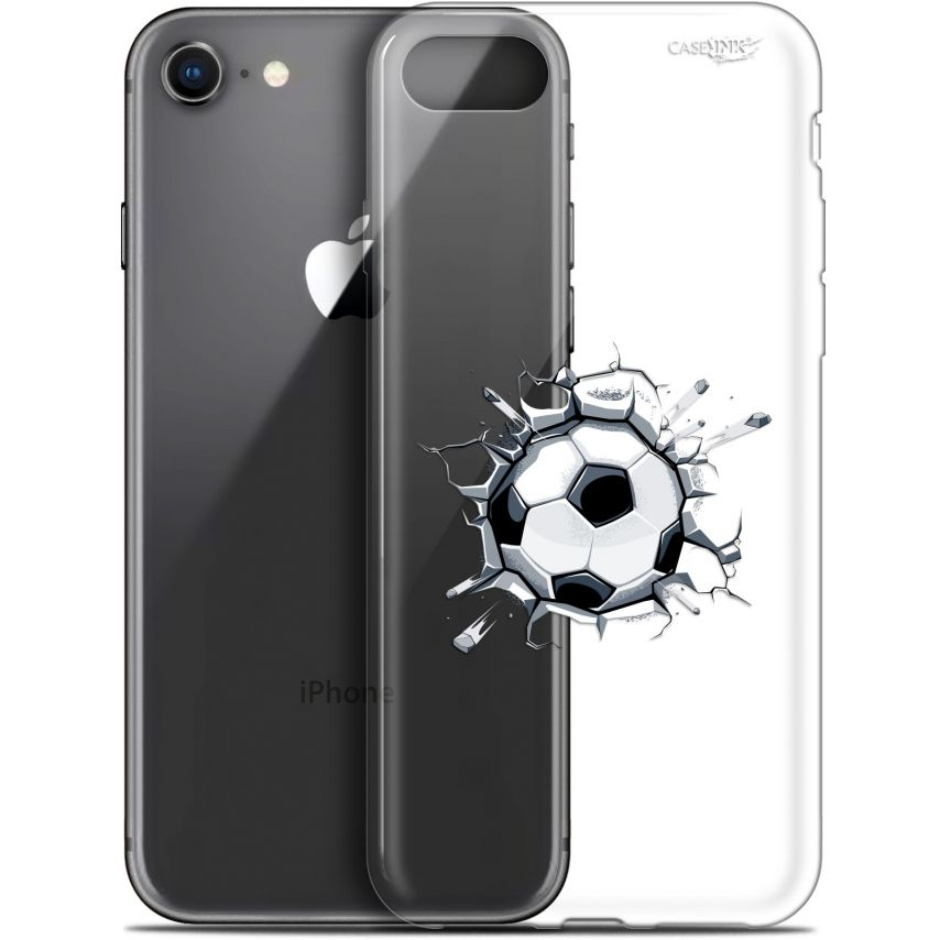 "Carcasa Gel Extra Fina Apple iPhone 7/8 (4.7"") Design Le Balon de Foot"
