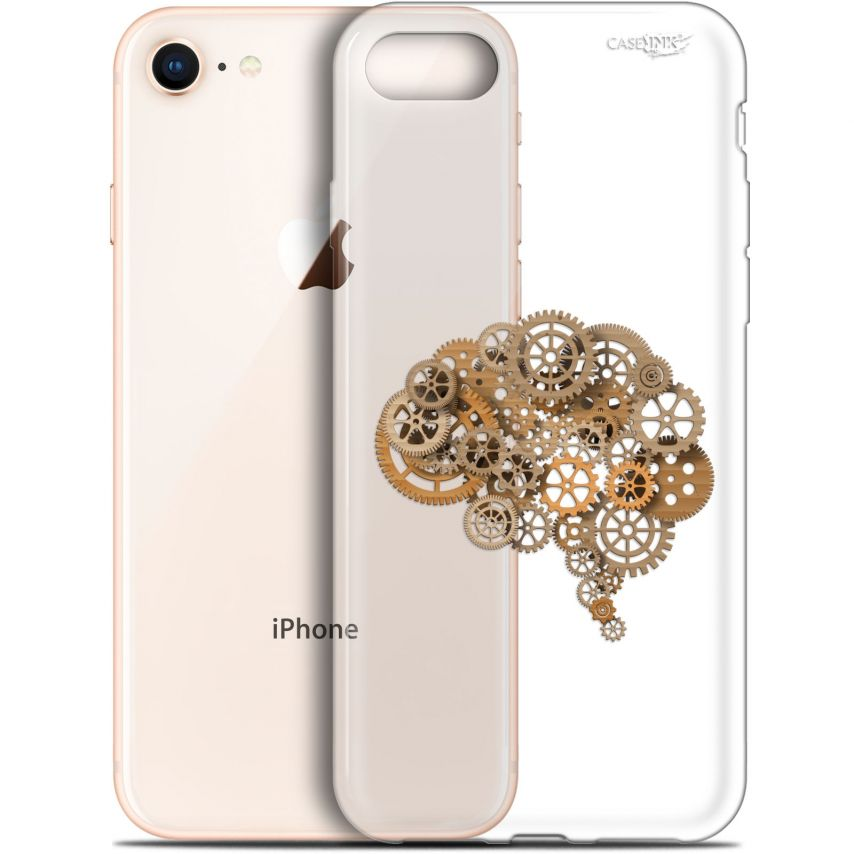 "Carcasa Gel Extra Fina Apple iPhone 7/8 (4.7"") Design Mécanismes du Cerveau"