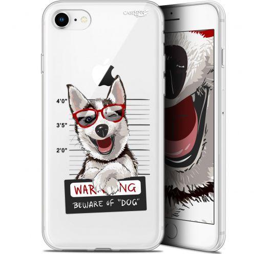 "Carcasa Gel Extra Fina Apple iPhone 7/8 (4.7"") Design Beware The Husky Dog"