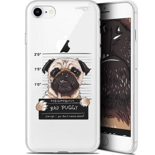 "Carcasa Gel Extra Fina Apple iPhone 7/8 (4.7"") Design Beware The Puggy Dog"