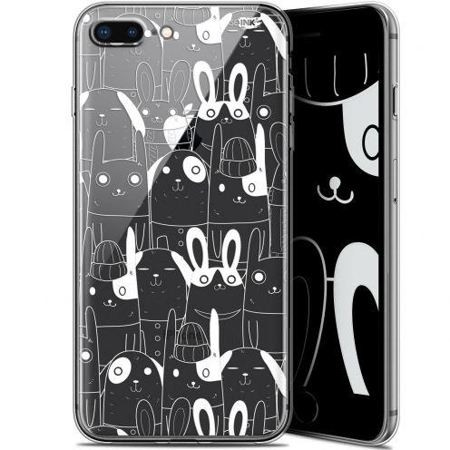 "Carcasa Gel Extra Fina Apple iPhone 7/8 Plus (4.7"") Design Lapin Blanc"