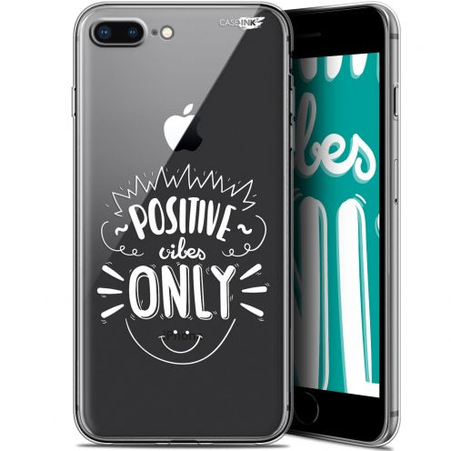 """Carcasa Gel Extra Fina Apple iPhone 7/8 Plus (4.7"""") Design Positive Vibes Only"""