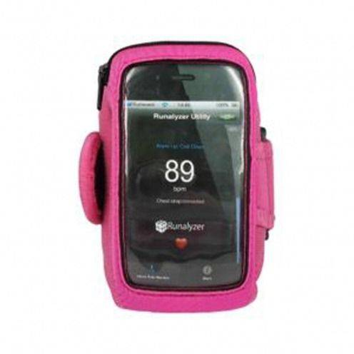 Brazalete Runalyzer ® iPhone 3GS / iPhone 4 / 4s / Touch Rosa S