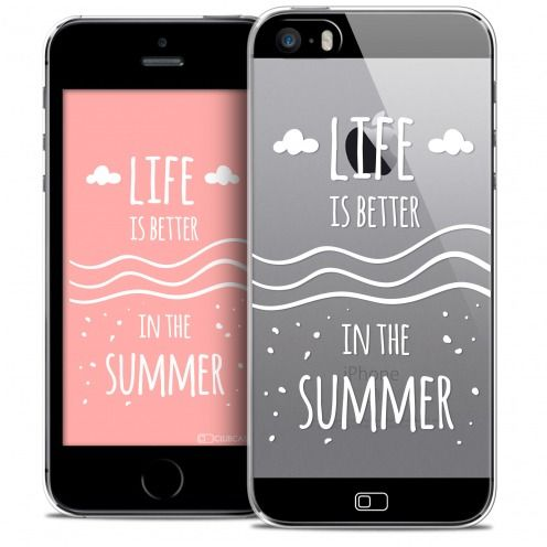 Carcasa Crystal Extra Fina iPhone SE/5/5s Summer Life's Better