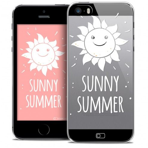 Carcasa Crystal Extra Fina iPhone SE/5/5s Summer Sunny Summer