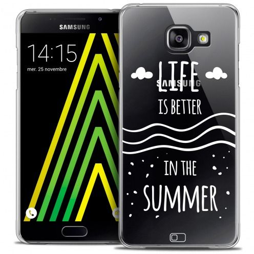 Carcasa Crystal Extra Fina Galaxy A5 2016 (A510) Summer Life's Better