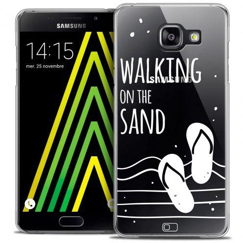 Carcasa Crystal Extra Fina Galaxy A5 2016 (A510) Summer Walking on the Sand