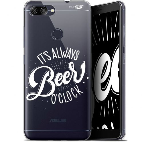 "Carcasa Gel Extra Fina Asus Zenfone Max Plus (M1) ZB570TL (5.7"") Design Its Beer O'Clock"