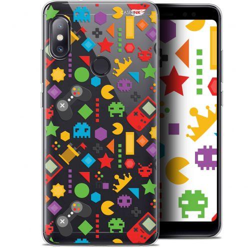 "Carcasa Gel Extra Fina Xiaomi Redmi Note 5 (5.99"") Design PacMan"