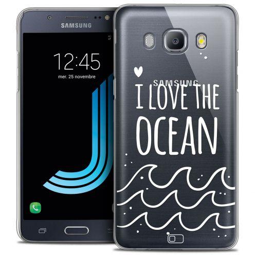 Carcasa Crystal Extra Fina Galaxy J5 2016 (J510) Summer I Love Ocean