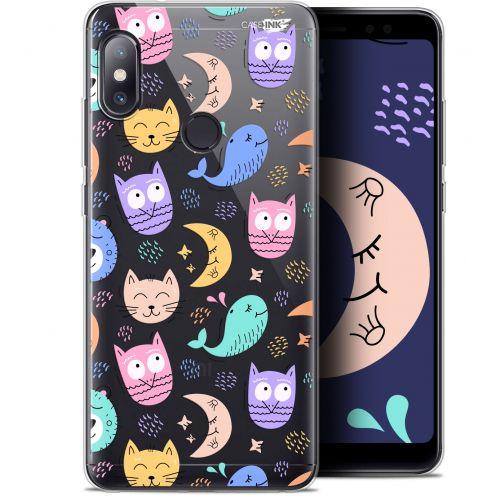 """Carcasa Gel Extra Fina Xiaomi Redmi Note 5 (5.99"""") Design Chat Hibou"""