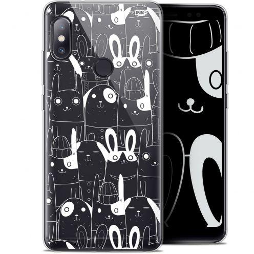 "Carcasa Gel Extra Fina Xiaomi Redmi Note 5 (5.99"") Design Lapin Blanc"