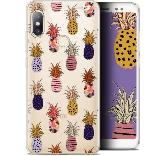 "Carcasa Gel Extra Fina Xiaomi Redmi Note 5 (5.99"") Design Ananas Gold"