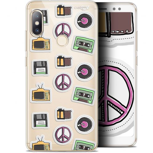 "Carcasa Gel Extra Fina Xiaomi Redmi Note 5 (5.99"") Design Vintage Stickers"