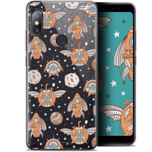 """Carcasa Gel Extra Fina Xiaomi Redmi Note 5 (5.99"""") Design Punk Space"""