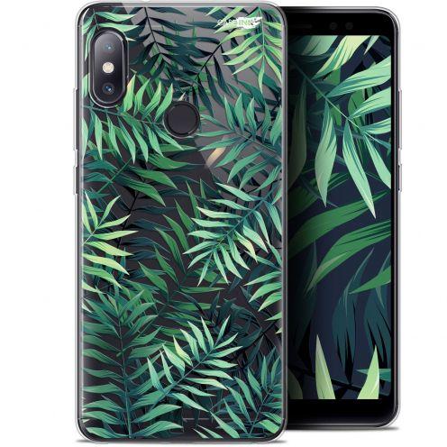 """Carcasa Gel Extra Fina Xiaomi Redmi Note 5 (5.99"""") Design Feuilles des Tropiques"""