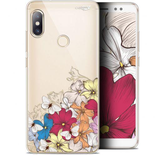 "Carcasa Gel Extra Fina Xiaomi Redmi Note 5 (5.99"") Design Nuage Floral"