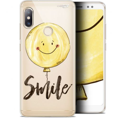 """Carcasa Gel Extra Fina Xiaomi Redmi Note 5 (5.99"""") Design Smile Baloon"""