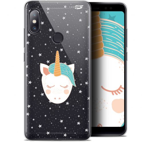 "Carcasa Gel Extra Fina Xiaomi Redmi Note 5 (5.99"") Design Licorne Dors"