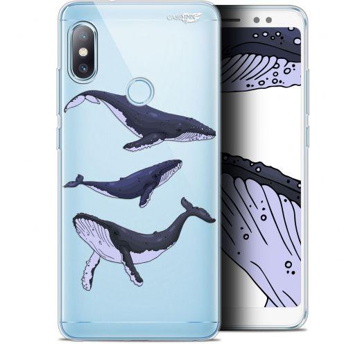 "Carcasa Gel Extra Fina Xiaomi Redmi Note 5 (5.99"") Design Les 3 Baleines"