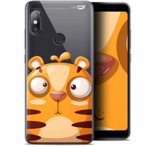 "Carcasa Gel Extra Fina Xiaomi Redmi Note 5 (5.99"") Design Cartoon Tiger"