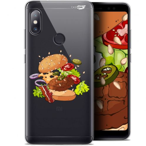 "Carcasa Gel Extra Fina Xiaomi Redmi Note 5 (5.99"") Design Splash Burger"