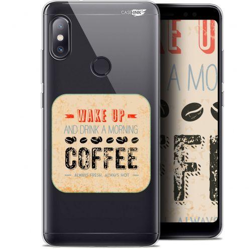 "Carcasa Gel Extra Fina Xiaomi Redmi Note 5 (5.99"") Design Wake Up With Coffee"