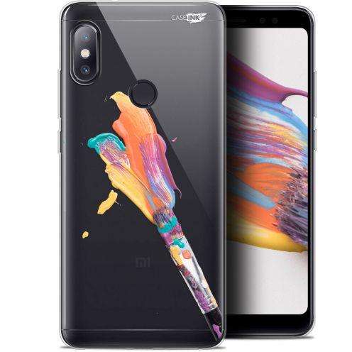 "Carcasa Gel Extra Fina Xiaomi Redmi Note 5 (5.99"") Design Pinceau de Peinture"