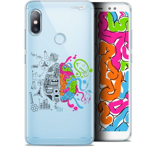 "Carcasa Gel Extra Fina Xiaomi Redmi Note 5 (5.99"") Design Le Cerveau"