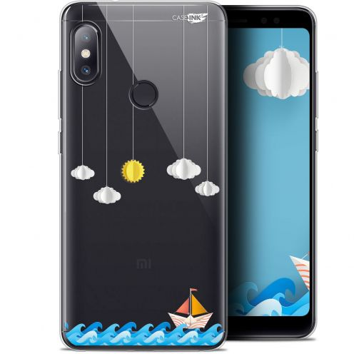 "Carcasa Gel Extra Fina Xiaomi Redmi Note 5 (5.99"") Design Petit Bateau en Mer"