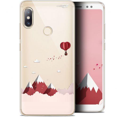 "Carcasa Gel Extra Fina Xiaomi Redmi Note 5 (5.99"") Design Montagne En Montgolfière"