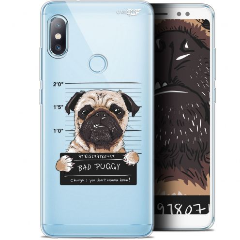 "Carcasa Gel Extra Fina Xiaomi Redmi Note 5 (5.99"") Design Beware The Puggy Dog"