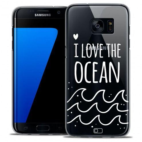 Carcasa Crystal Extra Fina Galaxy S7 Edge Summer I Love Ocean