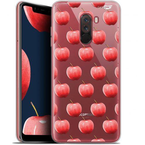 "Carcasa Gel Extra Fina Xiaomi Pocophone F1 (6.18"") Design Cerises"