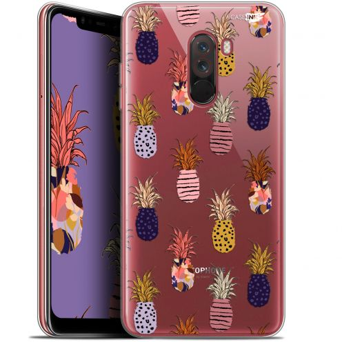 """Carcasa Gel Extra Fina Xiaomi Pocophone F1 (6.18"""") Design Ananas Gold"""