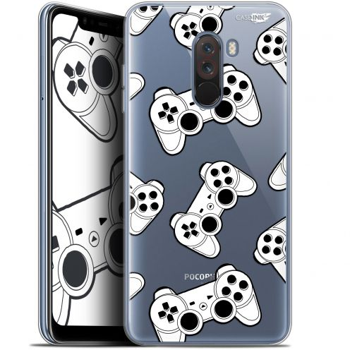"Carcasa Gel Extra Fina Xiaomi Pocophone F1 (6.18"") Design Game Play Joysticks"