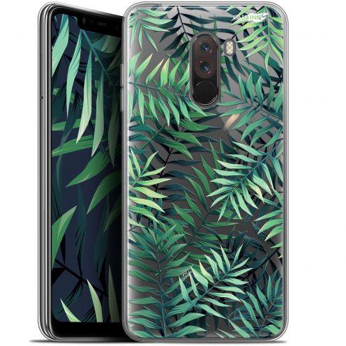 """Carcasa Gel Extra Fina Xiaomi Pocophone F1 (6.18"""") Design Feuilles des Tropiques"""