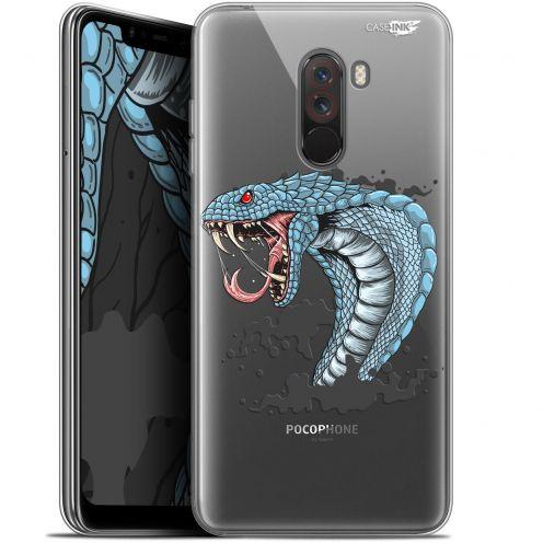 "Carcasa Gel Extra Fina Xiaomi Pocophone F1 (6.18"") Design Cobra Draw"