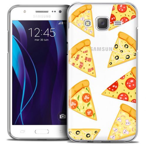 Carcasa Crystal Extra Fina Galaxy J7 (J700) Foodie Pizza