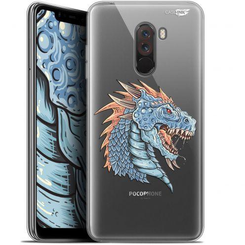 "Carcasa Gel Extra Fina Xiaomi Pocophone F1 (6.18"") Design Dragon Draw"