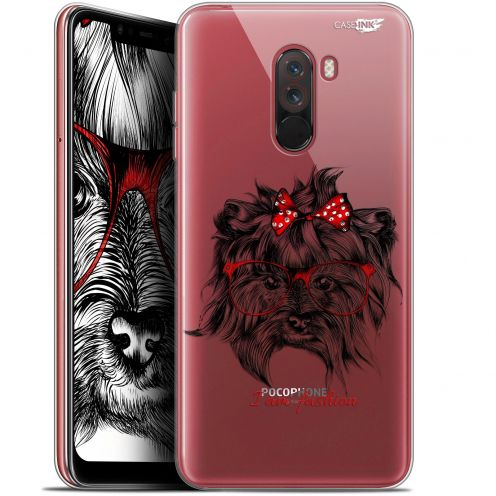 "Carcasa Gel Extra Fina Xiaomi Pocophone F1 (6.18"") Design Fashion Dog"