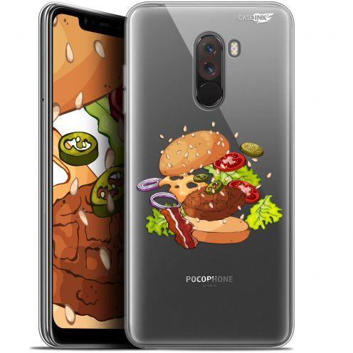 "Carcasa Gel Extra Fina Xiaomi Pocophone F1 (6.18"") Design Splash Burger"