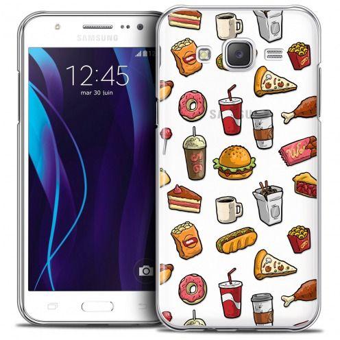 Carcasa Crystal Extra Fina Galaxy J5 (J500) Foodie Fast Food
