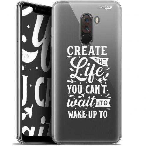 "Carcasa Gel Extra Fina Xiaomi Pocophone F1 (6.18"") Design Wake Up Your Life"