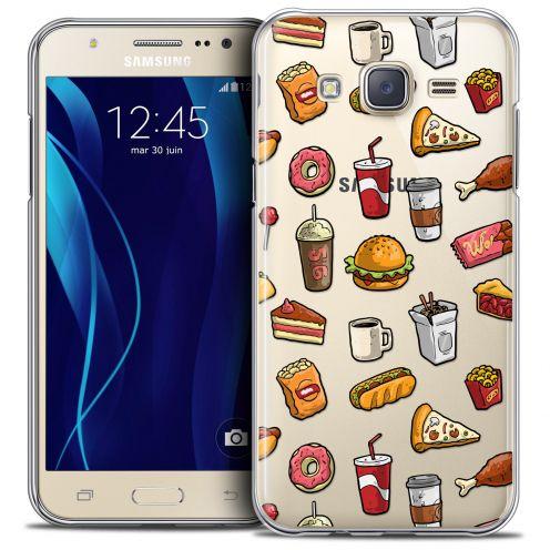 Carcasa Crystal Extra Fina Galaxy J7 (J700) Foodie Fast Food