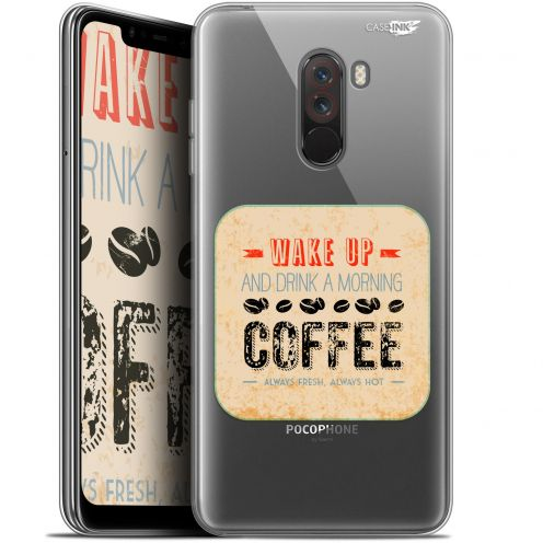 "Carcasa Gel Extra Fina Xiaomi Pocophone F1 (6.18"") Design Wake Up With Coffee"