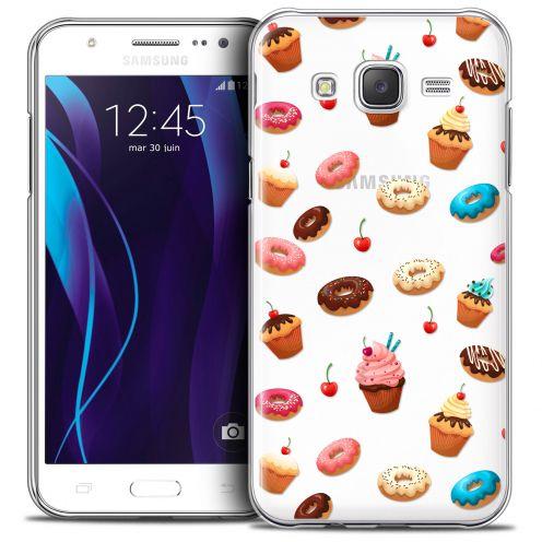 Carcasa Crystal Extra Fina Galaxy J5 (J500) Foodie Donuts
