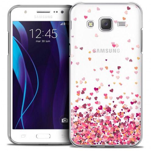 Carcasa Crystal Extra Fina Galaxy J5 (J500) Sweetie Heart Flakes