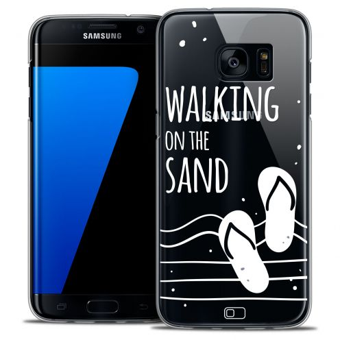 Carcasa Crystal Extra Fina Galaxy S7 Edge Summer Walking on the Sand