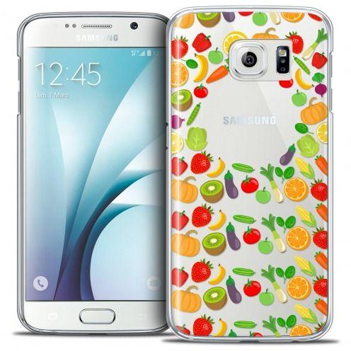 Carcasa Crystal Extra Fina Galaxy S6 Foodie Healthy